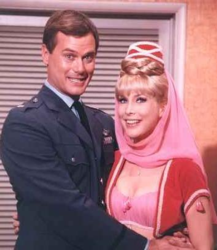 Okay, Larry Hagman may have actually touched her at least once.